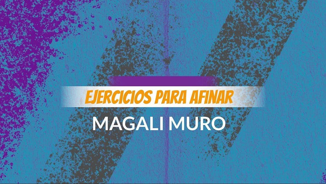 Clases de Canto Magali Muro afinar tu voz